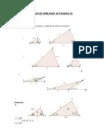 Taller semejanza de triangulos.doc