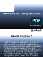 Us 14 Rosenberg Reflections on Trusting TrustZone