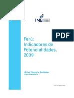 Peru Indicadores Potencialidades 2009