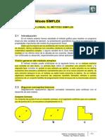 Lectura 2 -Programación lineal - Metodo SImplex - modificado (para 2A-2013)