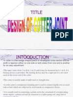 Design of Socket and Spigot Joint