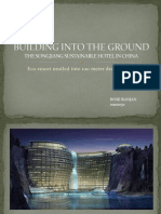 Building Into the Ground