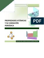 Propiedades Atomicas y Variaciones Periodicas