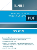 CH 1-1 Introduction to Basic Telephone