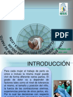 PARTO y Alivio Del Dolor