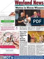 The Wayland News September 2014
