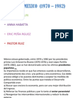 Crisis en Mexico (1970 – 1982)
