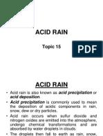 Acid Rain(t15)