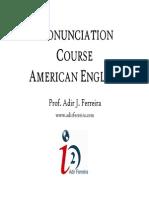 Pronunciation Course American English