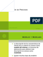 3 Modelación de Procesos