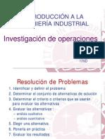 Tema 12 - Investigacion de Operaciones