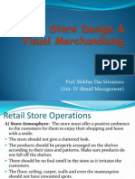 Retail Store Design (Unit IV)