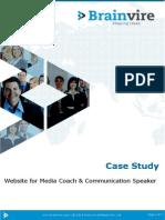 Website for Media Coach & Communication Speaker
