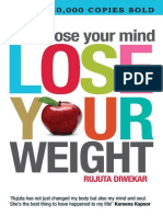 Don't Lose Your Mind Lose Your Weight - Diwekar, Rujuta