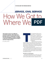 Foreign Service, Civil Service | How We Got to Where We Are by Harry Kopp
