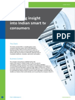 Providing insight into Indian smart TV consumers