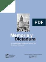 Memoria y Dictadura