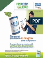 Publicación 19- Resultados de Análisis de Inocuidad y Calidad en Productos Alimenticios.