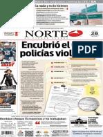 Periódico Norte edición del día 28 de agosto de 2014