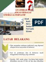 Pengolahan Limbah Tahu Menjadi Biogas