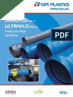 DPI PVC-U _ PVC-M Pressure Pipe Brochure 2013