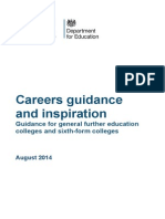 Careers Guidance and Inspiration FE & Sixth Form College Guidance