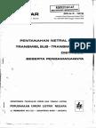 Spln 2_1978 (Pentanahan Netral Sistem Transmisi, Sub-transmisi Dan Distribusi)