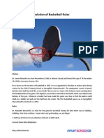 Sports 101 the Evolution of Basketball Rules