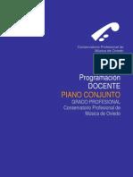 Programacion Conjunto Oviedo