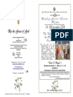2014 - 14 Sept - Exaltation Holy Cross - Hymns