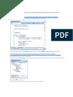 Creating Webservice