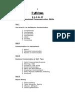 Business Communication -FYBSC IT