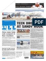 Asbury Park Press front page Thursday, Aug. 28 2014