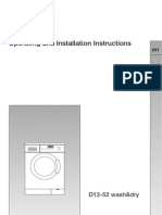 Simens Washer and Drier Manual