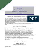 NFPA 705, 2003 Soft