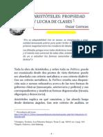 Aristoteles.propiedad.y.lucha.de.Clases -Oscar Correas