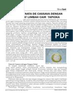 Nata de Cassava