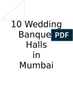 10 Wedding Banquet Halls in Mumbai