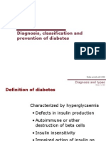 Diagnosis, Classification and Prevention