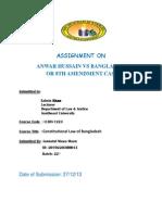 Assignment on 8th Amendment