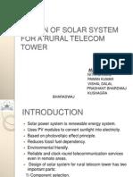 Solar System Design