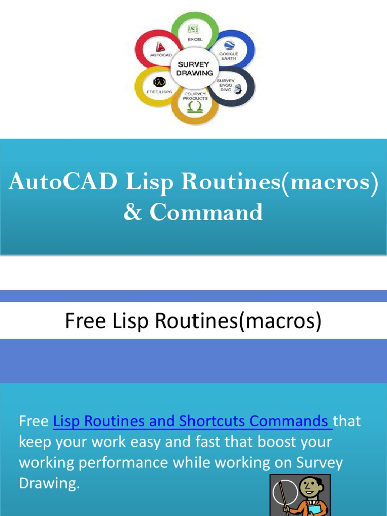 AutoCAD Lisp Routines and Commands List | Areas Of Computer Science