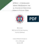 Methodology Thermal Analysis Structural Members