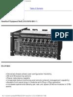 OmniStar Equipment Shelf AM-OMNI-HSG