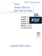 SAP Biz 1 MySAP All in One (G1)