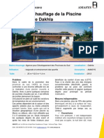 Etude de Cas Piscine Couverte de Dakhla