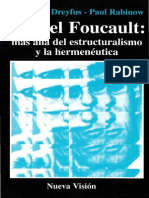 Dreyfus Hubert L - Michel Foucault Mas Alla Del Estructuralismo Y La Hermeneutica