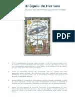 O Centilóquio de Hermes Ou Cem Aforismos - Astrologia Medieval - Por Hermes Trimegistus