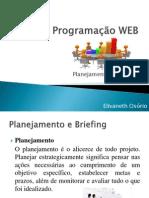 Programação WEB Briefing