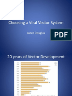 Choosing a Viral Vector System